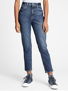 High Rise Cigarette Jeans With Washwell™