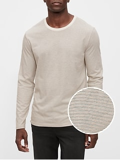 Everyday Micro Stripe T-Shirt