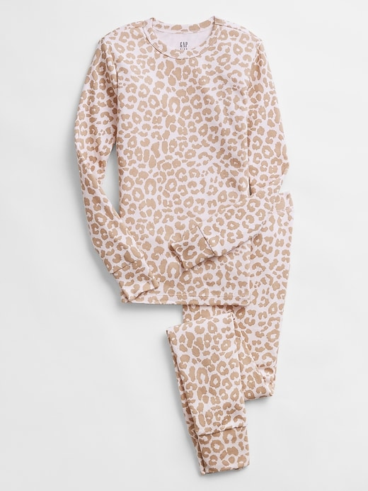 Kids Leopard Print PJ Set