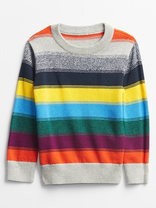 Gap Factory Toddler Unity Stripe Crewneck Sweater