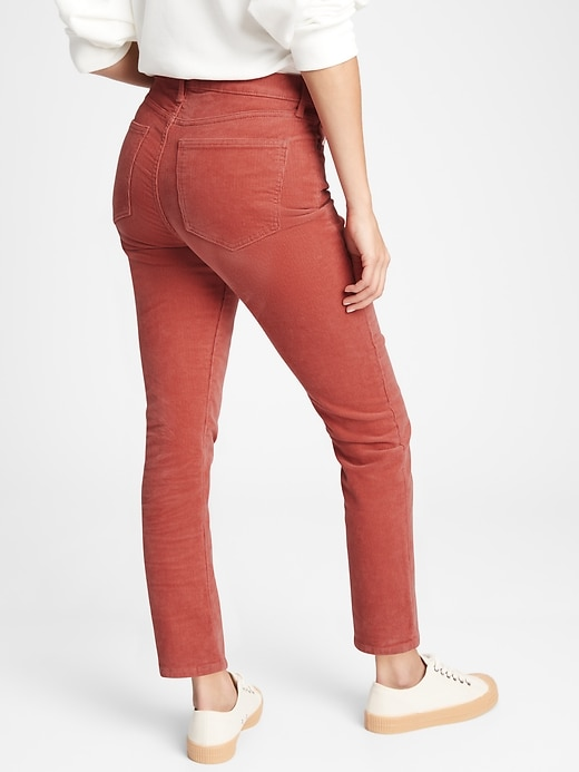 High Rise Cigarette Jeans
