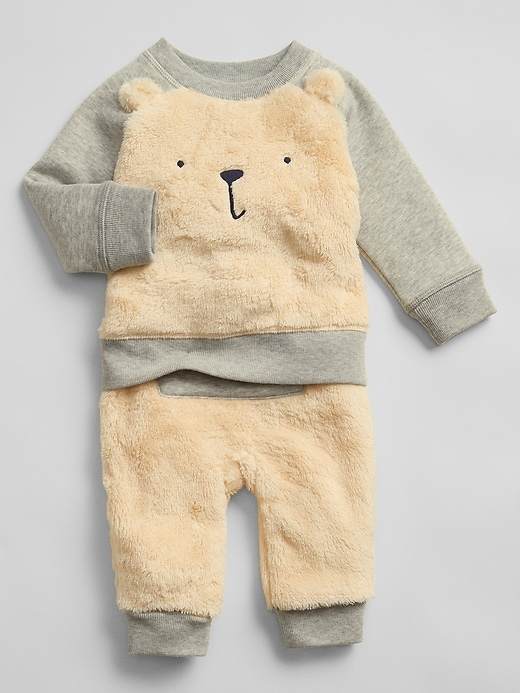 Baby Bear Outfit Set