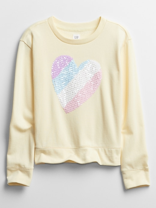 Kids Graphic Crewneck Sweatshirt
