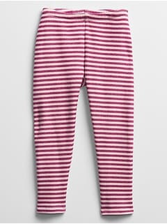 Toddler Cozy Sherpa Lined Print Leggings