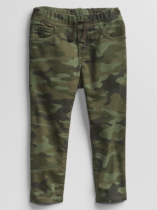 Gap Factory Toddler Camo Slim Pull-On Jeans with Stretch
