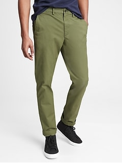 Essential Khakis in Slim Fit with GapFlex