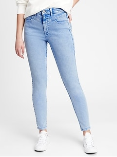 High Rise Universal Legging Jeans With Washwell™