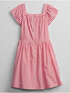 Kids Gingham Dress