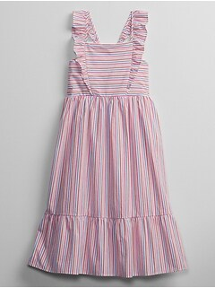 Kids Ruffle Midi Dress
