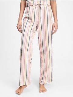 Print Pants in Poplin
