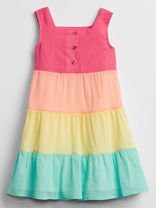 Toddler Rainbow Dress