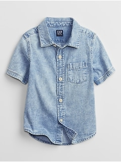 Toddler Denim Top